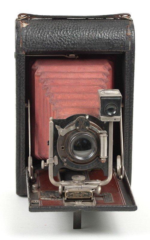 Kodak No. 4 Folding Pocket Roll Film Camera Model A  - 2