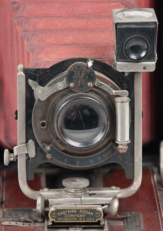 Kodak No. 4 Folding Pocket Roll Film Camera Model A  - 3