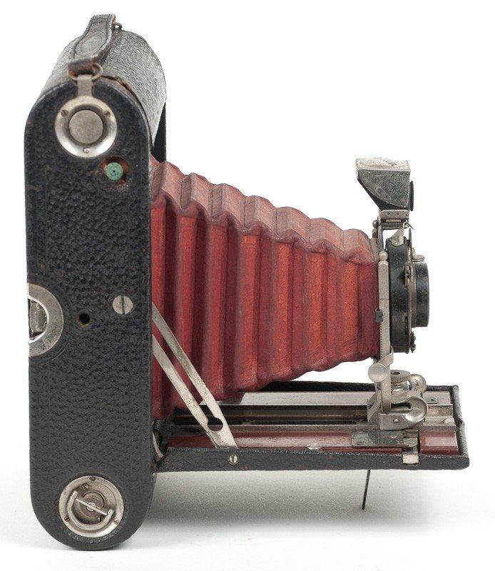 Kodak No. 4 Folding Pocket Roll Film Camera Model A  - 4