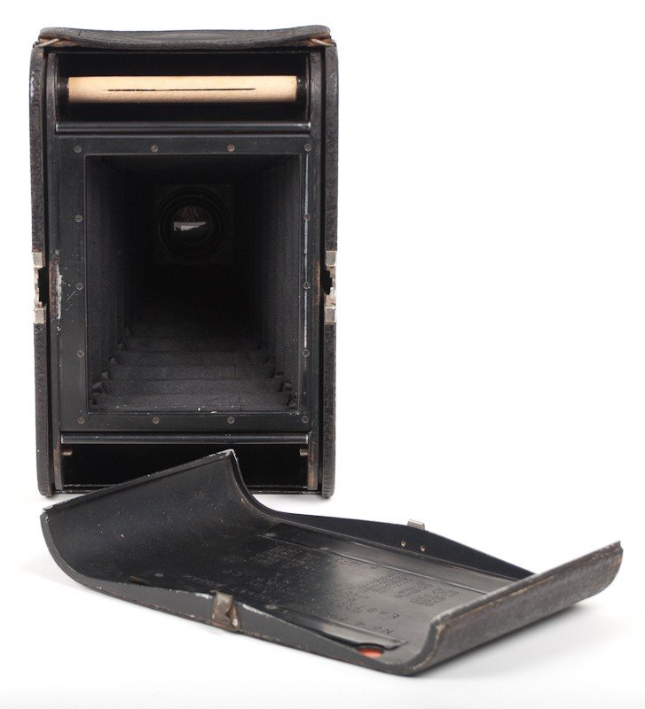 Kodak No. 4 Folding Pocket Roll Film Camera Model A  - 6