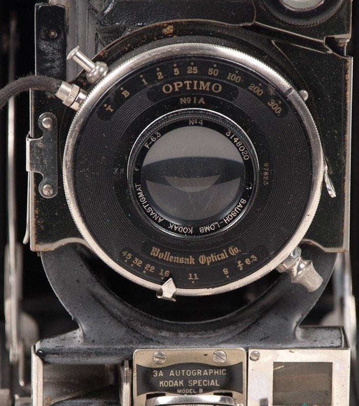 Kodak No. 3A Autographic Special Model B Camera  - 4