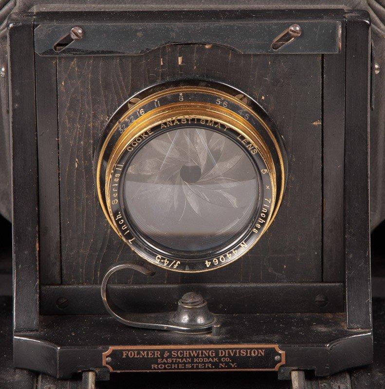 Graflex 3A Roll Film Camera  - 3