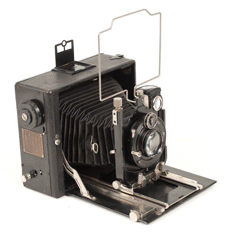 Ihagee Folding Plate Camera
