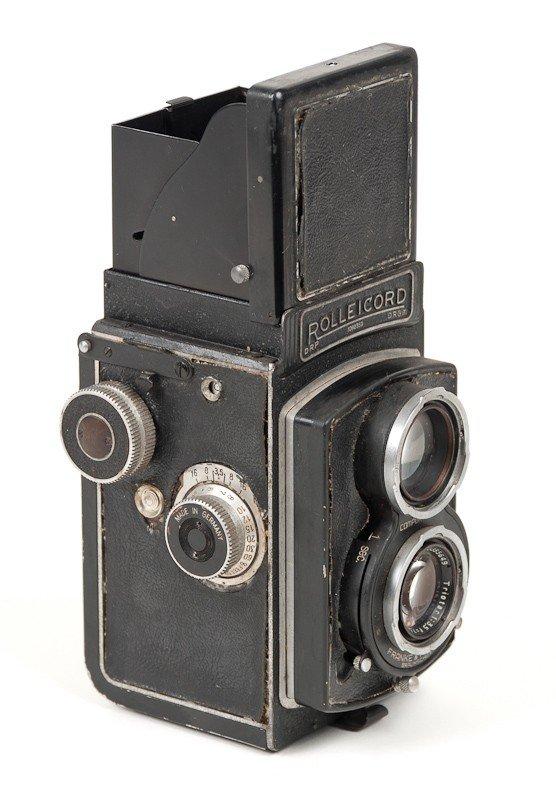 Rolleicord II Twin Lens Reflex, 120 Roll Film Camera