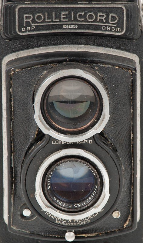 Rolleicord II Twin Lens Reflex, 120 Roll Film Camera - 3