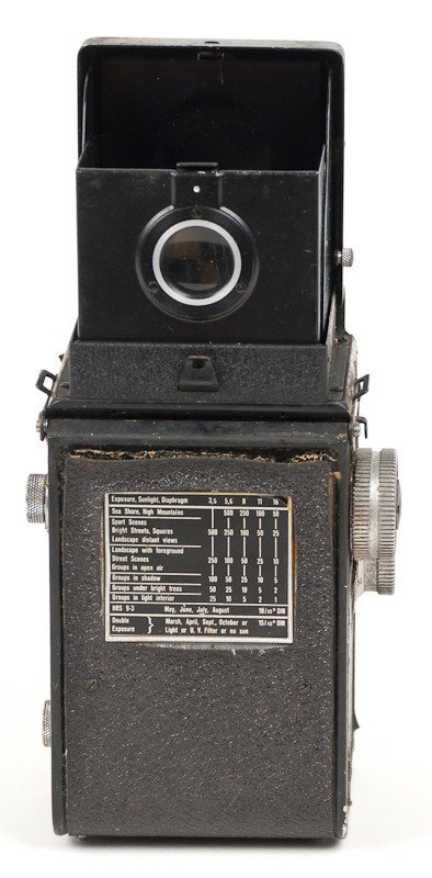 Rolleicord II Twin Lens Reflex, 120 Roll Film Camera - 5