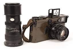 U.S. Army Signal Corps 70mm Roll Film KE-4 Camera