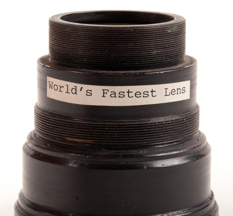 Signal Corps Engineering Laboratories 33mm f/0.6 Lens - 3