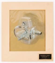 Raymond Loewy Associates Victor Prototype Drawing