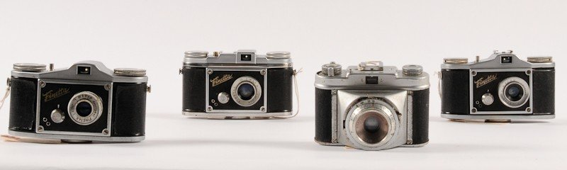 Group of 4 German 35mm Cameras