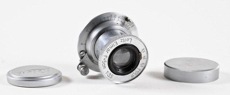 Elmar f/3.5 50mm Leica Screw-Mount Lens