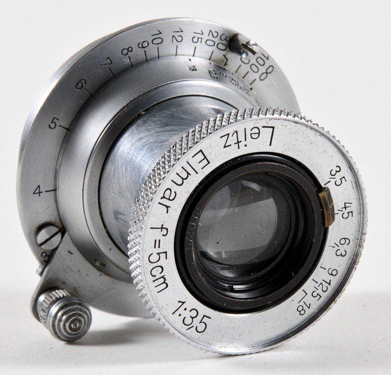 Elmar f/3.5 50mm Leica Screw-Mount Lens - 2