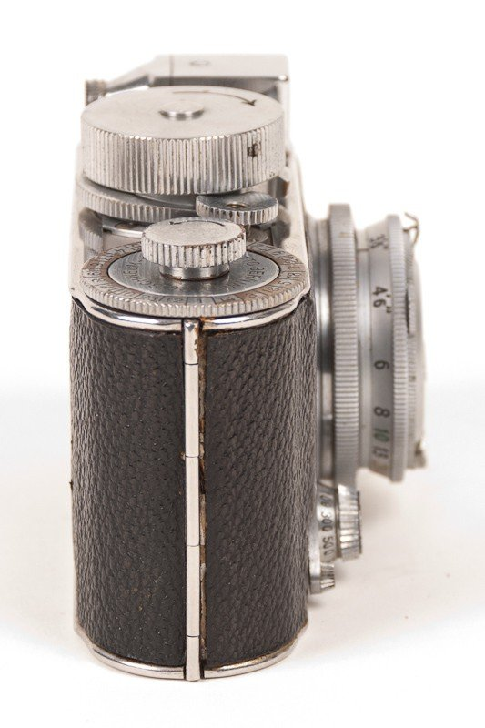 Robot Film Camera with Leather Case - 4