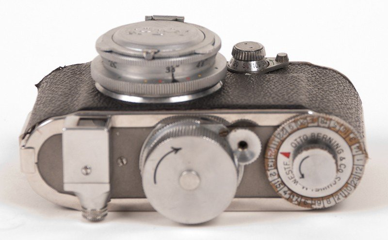 Robot Film Camera with Leather Case - 6