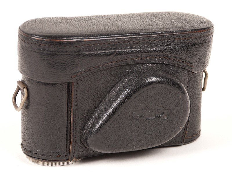 Robot Film Camera with Leather Case - 8