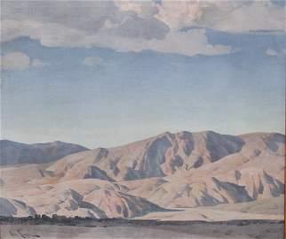 Listed Artist Paul Lauritz�(1889-1975) Original Oil