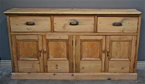 British Kingdom Antique Pine Sideboard