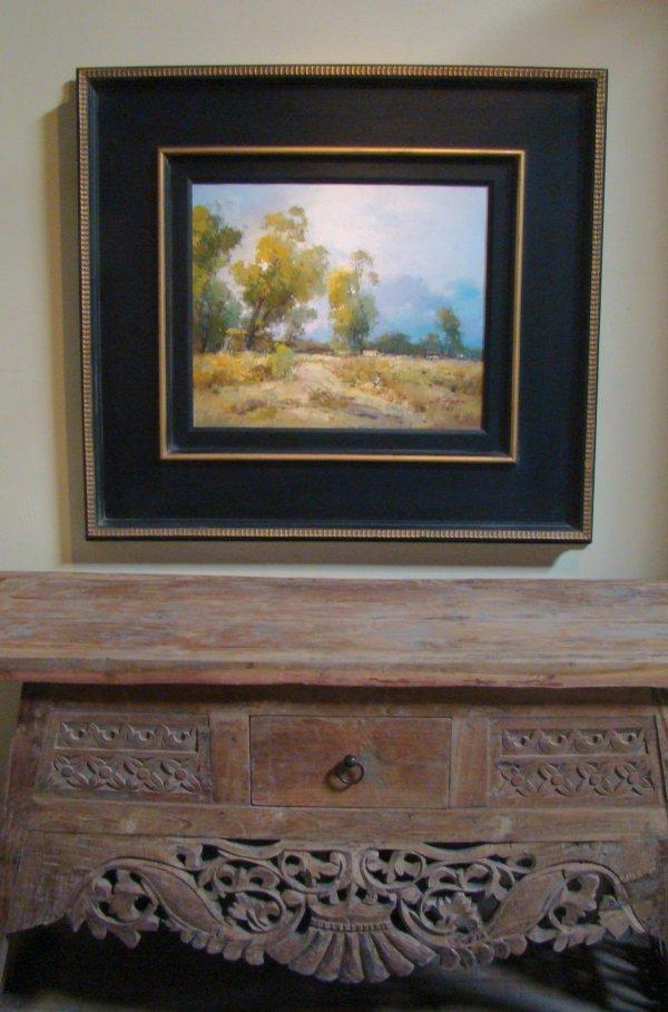 201: 20x24 Clifton Orig. Oil Landscape