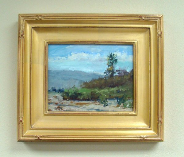 203: Listed Plein Air Artist Jeff Horn Landscape