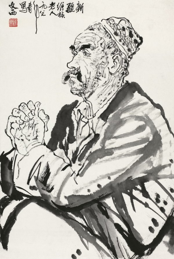 13: Xinjiang Old Man