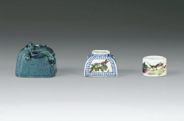 22: Three Treasures from Scholar's Desk  Period:   Mid-