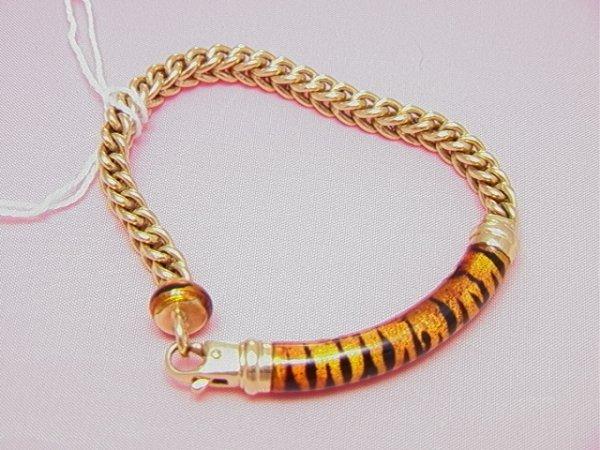 "7: 18K gold SOHO ""Urban Safari Collection"" bracelet"