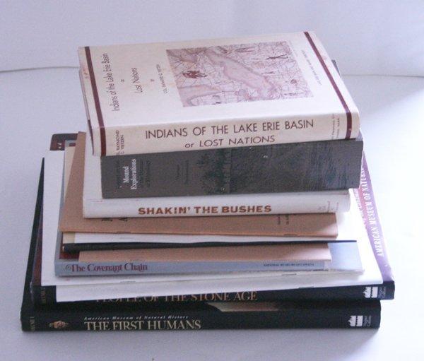 1A: Assorted Indian Arrowhead Books