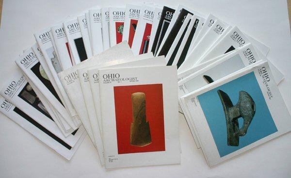 "2A: 41 assorted ""Ohio Arch."" Arrowhead Magazines"