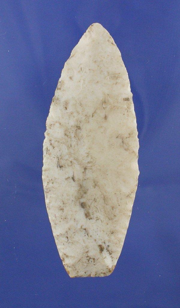7B: Agate Basin Indian Arrowhead  w/COA * AACA *