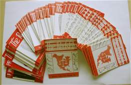 "73A: 59 ""Redskin"" Arrowhead Mags 1966 - 1983"