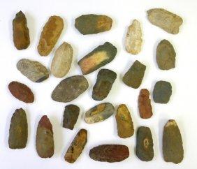 10B: Bulk lot of 20+  flint Celts found in Kentucky and
