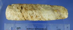 """18: 5 3/4"""" Flint Chisel found in Pettis Co. MO"""