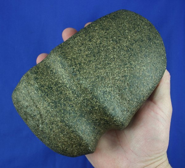"""55: 7 1/8"""" 3/4  Grooved Axe found in Clark Co MO AACA"""