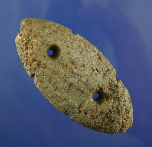 """412: AACA 4"""" Tallied Gorget found in Tennessee"""