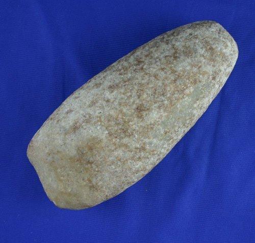 """16: 6 1/4"""" Quartz celt found in Ohio. AACA"""