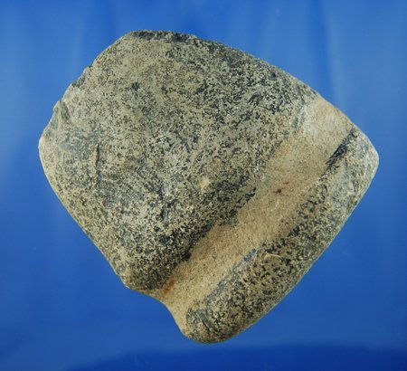 """10: 3 1/2"""" 3/4 Groove Axe found in White County IL. Ex"""