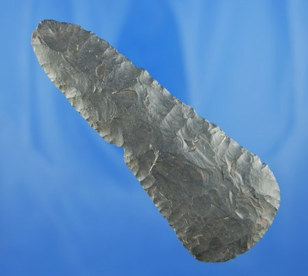 "11: 4 1/4"" Coshocton Flint Knife found in the Kennedy f"