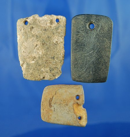 23: Group of 3 Salvaged Pendants found in Coshocton Co.