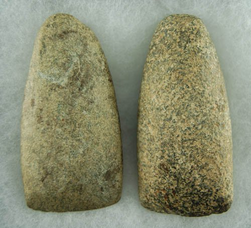 17: Pair of Ohio celts.  Lar Hothem Collection.