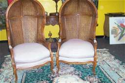 PR 20TH C. COUNTRY FRENCH CHAIRS