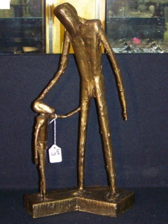 3: 20th c Bronze Sculpture signed D. Ztote
