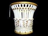 4: Mottahedeh Gold Guilt Vase
