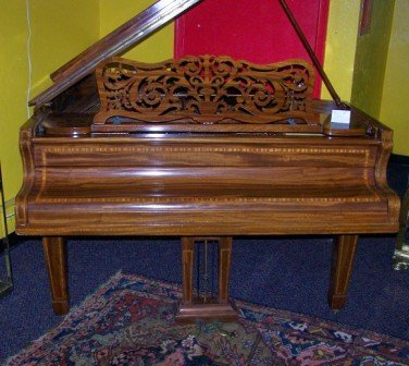 130: 19th c Collard & Collard Baby Grand Piano