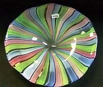 406 12 78 Vintage Murano Art Glass Bowl
