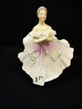 7: Royal Doulton The Ballerina Figurine