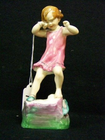 14: Royal Worcester Wednesdays Child Figurine