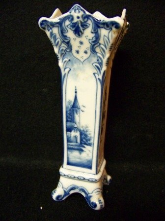 22: Vintage German Porcelain Vase