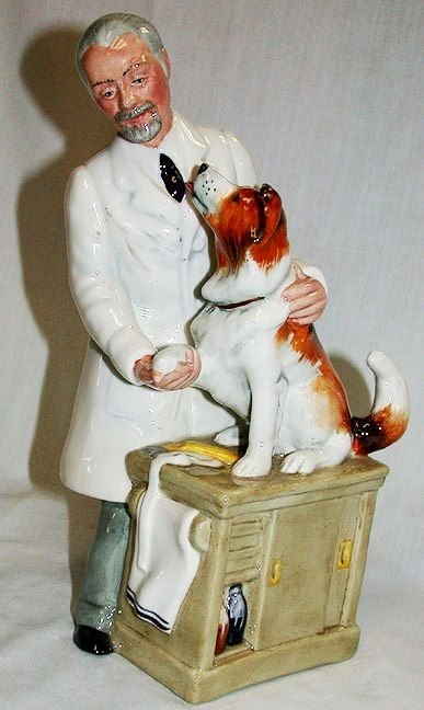 6A: Royal Doulton Thanks Doc Fig. HN2731
