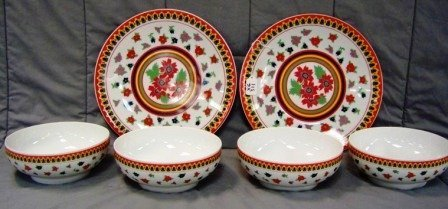 311: 6Pc Heinrich Germany Serving Pieces