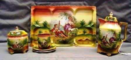 316: 6Pc Vienna Porcelain Serving Pcs.